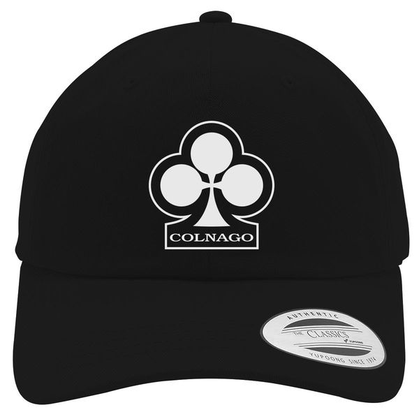 Colnago Bicycle Cotton Twill Hat Black / One Size