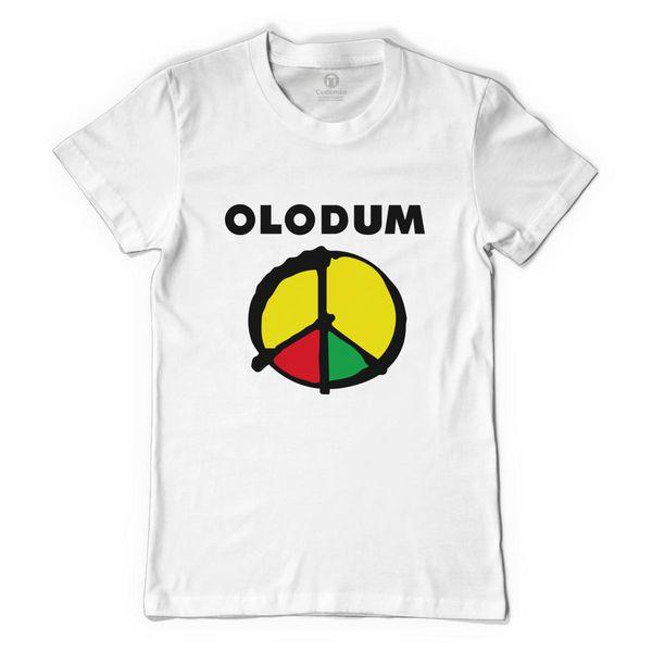 Peace Olodum Women's T-Shirt White / S