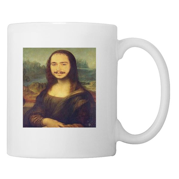 Post Malonalisa Coffee Mug White / One Size