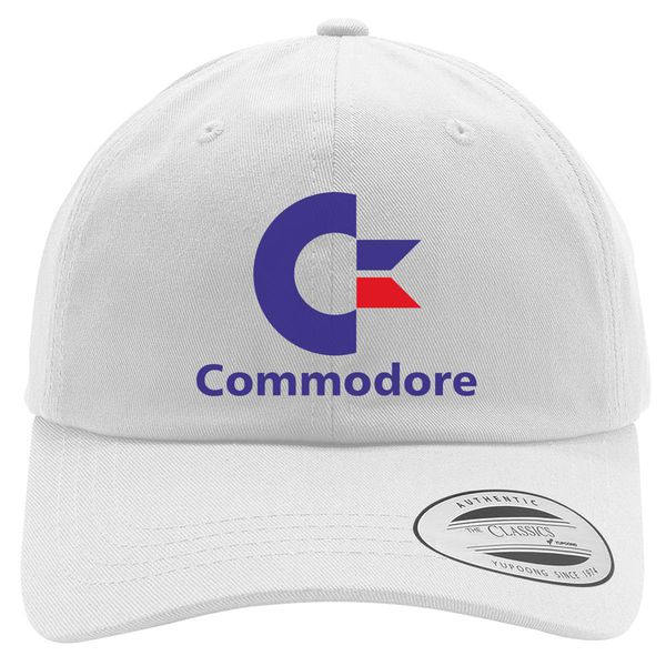 Commodore C64 Cotton Twill Hat White / One Size