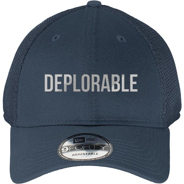 Deplorable New Era Baseball Mesh Cap Navy / One Size