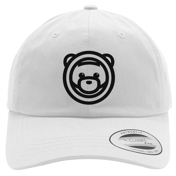 Ozuna Teddy Bear Logo Cotton Twill Hat White / One Size