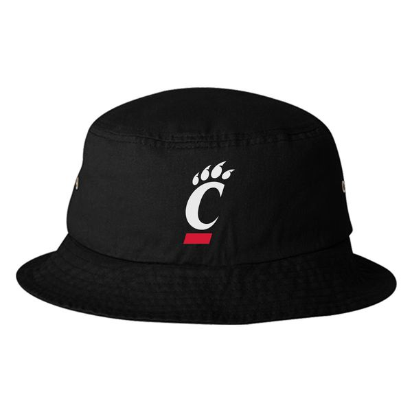 Cincinnati Bearcats Logo Bucket Hat Black / One Size