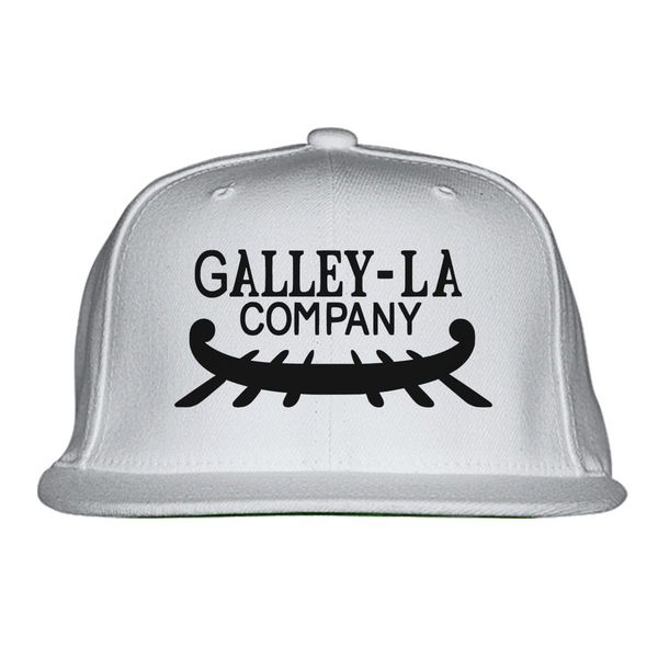 One Piece Luffy Galley-La Company Logo Snapback Hat White / One Size