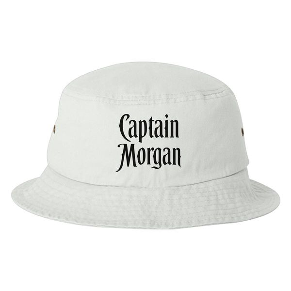 Captain Morgan Bucket Hat White / One Size
