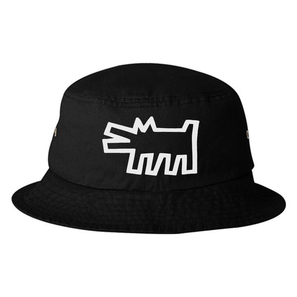 Keith Haring Icon Bucket Hat Black / One Size
