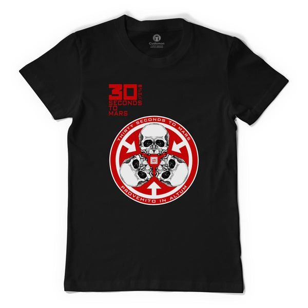 30 Seconds To Mars Men's T-Shirt Black / S