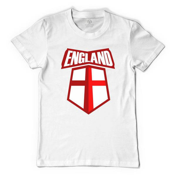 2018 Fifa World Cup - England Victory Men's T-Shirt White / S