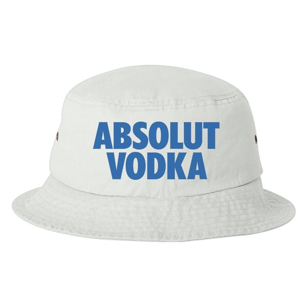 Absolut Vodka Logo Bucket Hat White / One Size