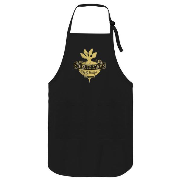 Schrute Farms (Special Mose Edition!) Apron Black / One Size