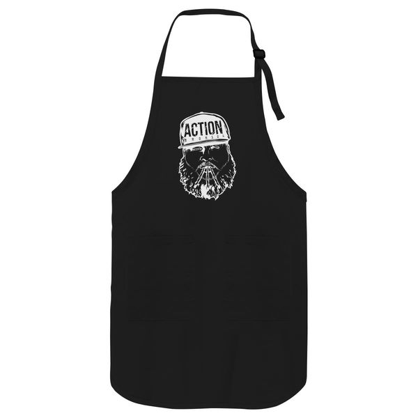 Action Bronson Apron Black / One Size