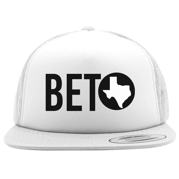 Beto For Texas Foam Trucker Hat White / One Size