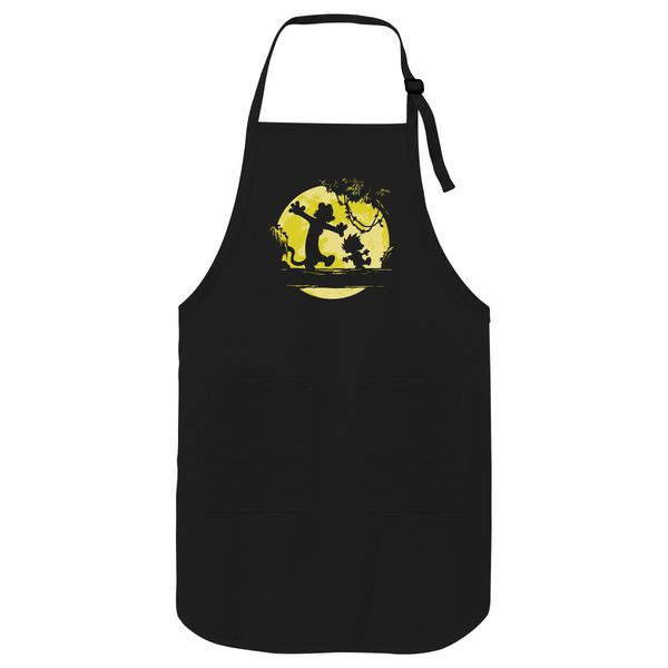 Calvin And Hobbes No Worries Apron Black / One Size