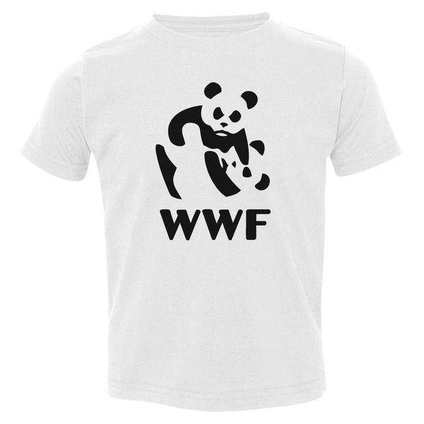 Funny Wwf Toddler T-Shirt White / 3T