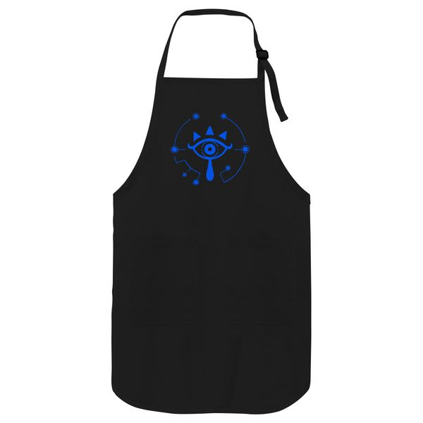 Legend Of Zelda Sheikah Symbol Apron Black / One Size