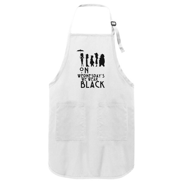 American Horror Story Apron White / One Size