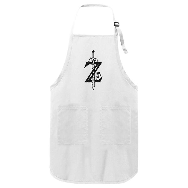 Breath Of The Wild Z-Logo Zelda Apron White / One Size