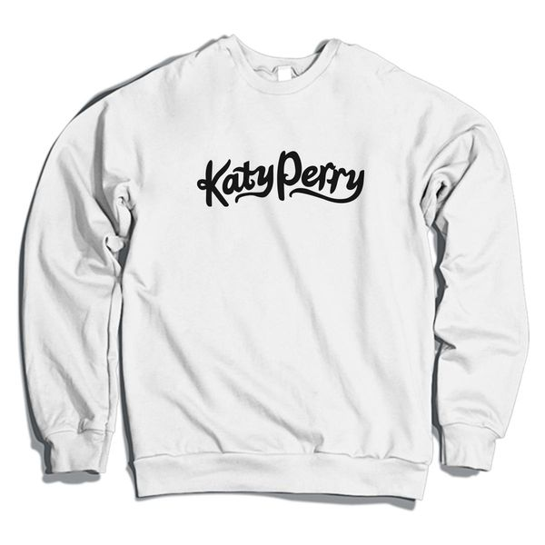 Katy Perry Crewneck Sweatshirt White / S