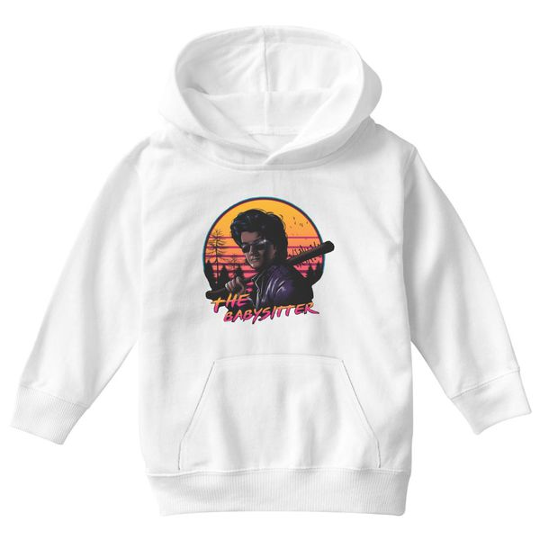 The Baby Sitter One Kids Hoodie White / S