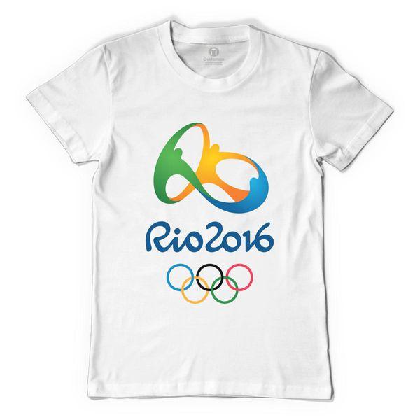 Rio 2016 Men's T-Shirt White / S